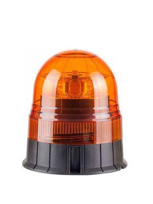 LED Zwaailamp Amber R65 met 3-bouts montagevoet 12/24V