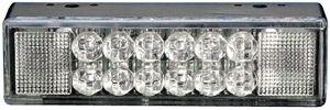 WAARSCHLAMP WL LED 12V 118x33x22MM OR