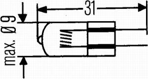 LAMP 24V 20W-G4