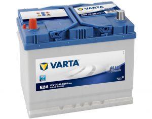 ACCU 12V/70Ah E24 630A VARTA BLUE DYNAMIC